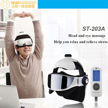 Ectric Head Massager Vibration Eye Neck Tens Massage Physical Therapy Apparatus With Soothing Music Acupressure As Seen On Tv
