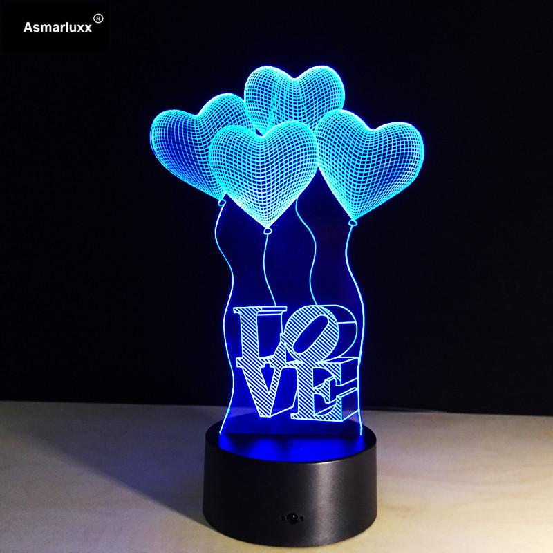 Asmarluxx 3D Night Lamp00402