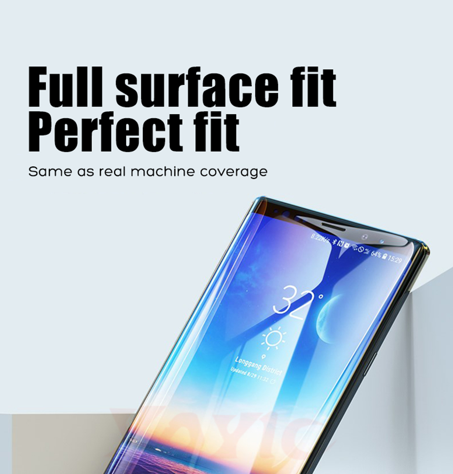 1- For Samsung S8 S9 Glass For Samsung S8 Plus S9 Plus Glass For Samsung Note 8 Glass For Samsung Note 9 Glass