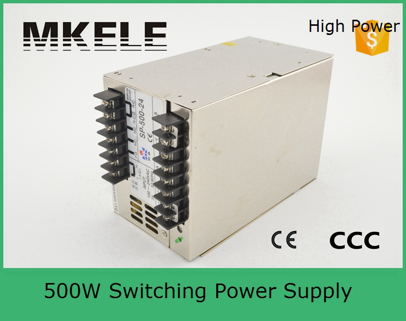 PFC function SP-500-27 18A 500w multi terminals 27vdc high power hot selling monthly 500w 27v  switching model power supply<br><br>Aliexpress