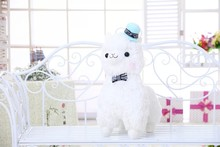 35cm/45cm Japanese Alpacasso Soft Toys Doll Giant Stuffed Animals Lama Toy 3 Colors Kawaii Alpaca Plush Kids Christmas Gift