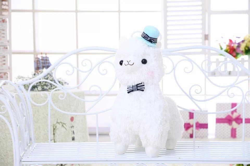 35cm/45cm Japanese Alpacasso Soft Toys Doll Giant Stuffed Animals Lama Toy 3 Colors Kawaii Alpaca Plush Kids Christmas Gift<br><br>Aliexpress
