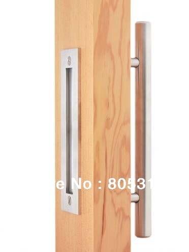 Stainless Steel Barn Door Handle Pull Wooden sliding door handle knob<br><br>Aliexpress