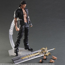 Play Arts Final Fantasy Figure Final Fantasy XV Gladiolus Amicitia Figure PA 25cm PVC Action Figure Toys Play Arts Kai Figur