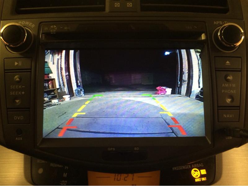 TOYOTA RAV4 ANDROID CAR DVD (1)