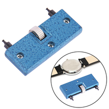 Hot Adjustable Back Case Opener Cover Remover Screw Watchmaker Open Battery Change Watch Repair Tool Kit