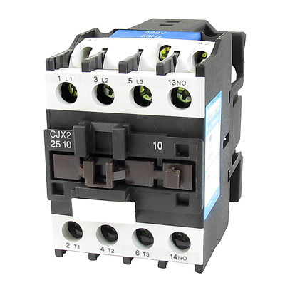 CJX2-2501 660V 40A 3 Poles 3P NO DIN Rail AC Contactor 36V Coil<br>