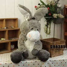 Plush toy stuffed doll NICI cute gray donkey lover Christmas Valentine's Day birthday gift 1pc free shipping