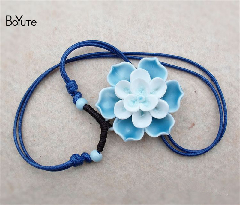 Flower necklace (4)