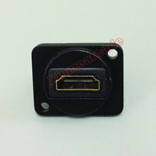 Arcade Cabinet HDMI Socket Panel Module HDMI Connector HDMI Wall Plate Module HDMI Coupler Passthrough Straight Socket