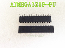 Free Shiping 10pcs/lot ATMEGA328P-PU CHIP ATMEGA328 Microcontroller MCU AVR 32K 20MHz FLASH DIP-28