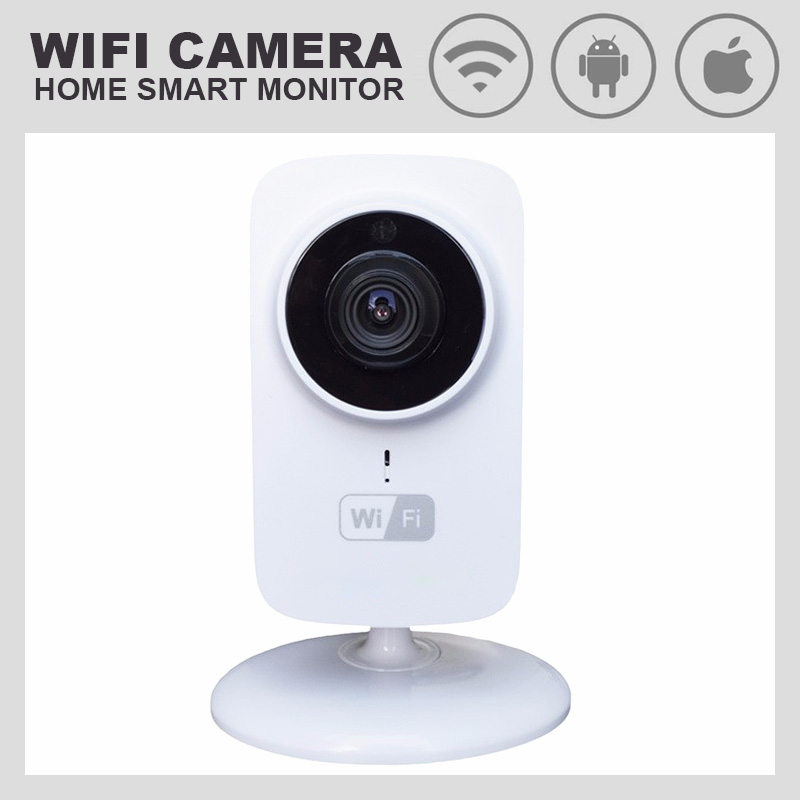 HD 720P 1.0MP WIFI PTZ IP Camera IR-Cut NightVision Two Way Audio CCTV Security Smart Cameras Wireless P2P Cloud View Indoor Use<br>