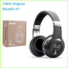 Buy 100% Original Bluedio H+ Headset Bluetooth 4.1 Stereo HIFI Wireless Headphones Bluetooth Earphones Calls Music Mic FM for $25.79 in AliExpress store