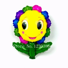 sunflower balloon foil mini balloons wedding birthday party Decoration supplies