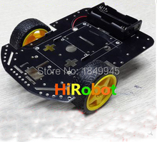 Single chip microcomputer intelligent displacement car chassis 2 wheel car chassis Tracking Obstacle avoidance car chassis