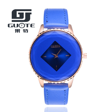 high-quality 2017 new 5color jewelry watch fashion gift table women Watches Jewel gem cut black geometry quartz wristwatches G75