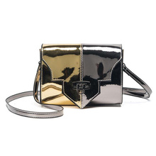 Purse Shoulder Messenger bag luxury handbags women bags Mirror Handbag Leather Laser Shine Satchel Crossbody bag bolsa feminina