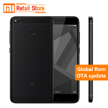 "Original Xiaomi Redmi 4X 4 X Mobile Phone Snapdragon 435 Octa Core CPU 2GB RAM 16GB ROM 5.0"" HD 13MP Camera 4100mAh Smartphone"