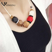 2017 Fashion Bohemia ethnic Statement Necklace geometric Choker Collar Pendant Necklace For Women Brand Jewelry wholesale