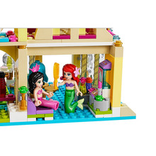 383PCS Bela 10436 The Mermaid Series Undersea Palace Princess Bricks Building Block Toys Compatible With LEPIN(China)