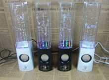 30pcDancing Water Speaker Active Portable Mini USB LED Light Speaker For iphone ipad PC MP3 MP4 PSP subwoofer water-column audio