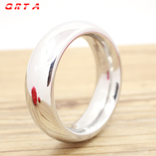 QRTA Stainless Steel Cock Ring Round 40/45/50mm Time Delay Cock Rings Male Sex Toys Penis Rings Erotic Sex adult Products(China)