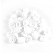 50 pieces White Auriculare Replacement Padded Headgear Silicone Earphone Cover