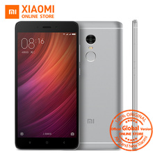 "Global Version Xiaomi Redmi Note 4 Phone 4GB RAM 64GB ROM Snapdragon 625 Octa Core CPU 5.5"" 13MP CE 1080p Display"