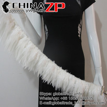 "CHINAZP 850pieces/bundle 5""-8"" Beautiful Decolorizing Natural Grizzly Rooster Saddle Feathers Hair Extensions(China)"