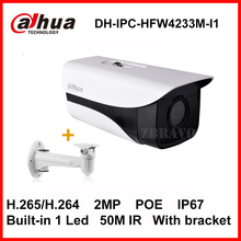 Buy Dahua Starlight H.265 2MP IPC-HFW4233M-I1 Network IP Camera Support POE IP67 IR 50M DH-IPC-HFW4233M-I1 CCTV Camera bracket for $118.18 in AliExpress store