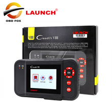 Top 2017 New Arrival Auto Code Reader 100% Original Launch Creader VIII Multi-language Creader 8 free shipping