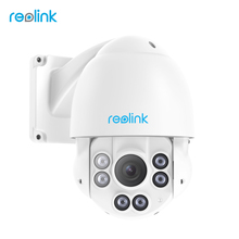 Reolink PTZ IP Camera PoE 4MP Pan/Tilt 4x Optical Zoom HD Outdoor Motorized Lens Security Cam RLC-423(China)
