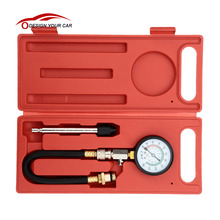 A0010 Gasoline Engine Compression Tester Automotive Test G-324 0~300psi Auto Pressure Tester(China)
