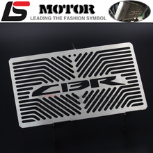 Motorcycle Stainless Steel Radiator Guard For HONDA CBR 250 CBR250 2010 2012  CBR300 2014-2016 radiator grill protector cover