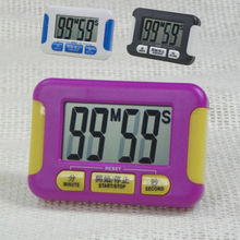 Timer Countdown Kitchen Cooking 99 Minute Digital LCD Sport (Purple Black Blue )(China)