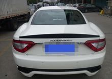Carbon Fiber Rear Trunk Lip Spoiler Wing For Maserati Gran Turismo Coupe 2008-2011(China)