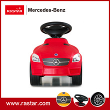 Rastar licensed car ride on car Mercedes Benz SLK 55 AMG Foot to Floor car with chassis and horn sound 82300 new year