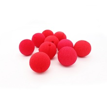 10pcs Halloween Magic Party supplies Red Sponge clown nose birthday party dancing decoration kids costume ball Clowns play props(China)