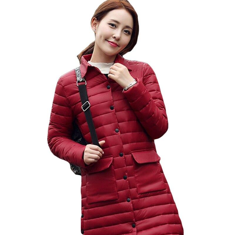 Plus Size 2017 Winter Spring Thin Light New Parkas Women Padded Cotton Jackets Coat Large Size Slim Jacket Coat Female LH255Одежда и ак�е��уары<br><br><br>Aliexpress