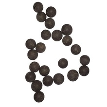 100PCS/Bag Slingshot Beads Bearing Mud Eggs Airsoft Slingshot Ammunition Ammo Solid Drawing-board Clay Mud Beads for Hunting