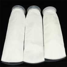 100/150/200 White Micron 4x15 Inch Fish Aquarium Marine Sump Felt Pre Filter Sock Bag High Density Of Interspace(China)