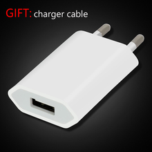 Top Quality USB Charger for iPhone 8 7 AC EU Plug Wall Adapter for Apple iPhone 5 5s 5C 6 6s 7 8 plus USB Power Adapter(China)