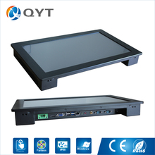 "18.5"" industrial tablet pc 4gb ddr3 32g ssd 4usb/2rs232/wifi embedded Panel pc touch screen 1366x768 intel atom N3150(China)"