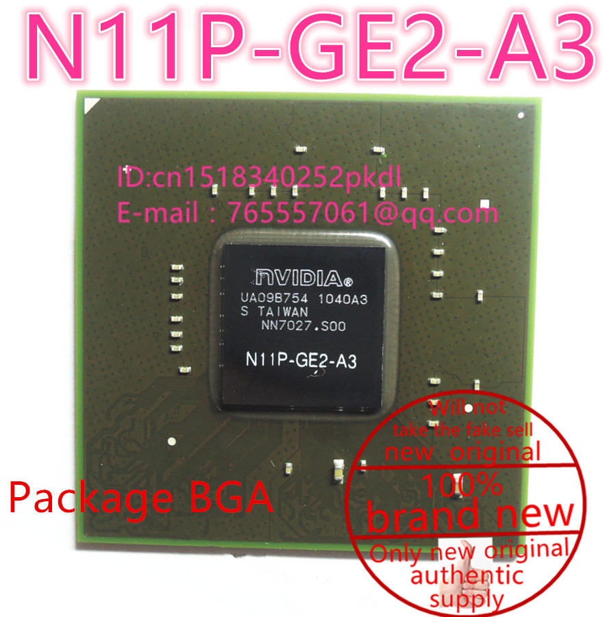 100% New N11P-GE2-A3  BGA Chipset<br>