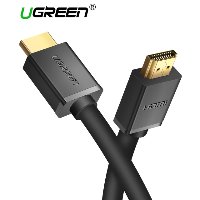 Ugreen HDMI кабель hdmi к HDMI 2.0 кабель 1 м 2 м 3 м 5 м 15 м 4 К HDMI кабель 1080 P 3D для Xiaomi Mi TV Box 3 Laptop Nintend Switch PS4/3 DVB T2 PS3 проектор HD Apple тв компьютер
