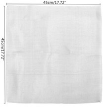 Top Quality Stainless Steel Mesh Twill Weave Wire Cloth Filtration Screen Supplies 45X45cm(China)