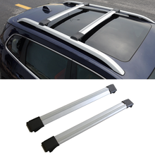 Wotefusi Gray Strap Roof Rack Rail Cross Bars Luggage Carrier For Jeep Cherokee 2013 2014 2015 2016 [QPA389](China)