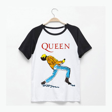Queen Freddie Mercury metal rock sing my heart to the sky classic stage posters printing t shirts brand new summer