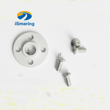 Official iSmaring 25T Metal Servo Horn Robot Arm Round type Disc with Screw for MG995 MG996 MG996R MG945 S3003 Robotic Servo Par(China)