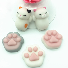 Dropshipping Cute Mochi Squishy Cat Squeeze Healing Fun Kids Kawaii kids Adult Toy Stress Reliever Decor